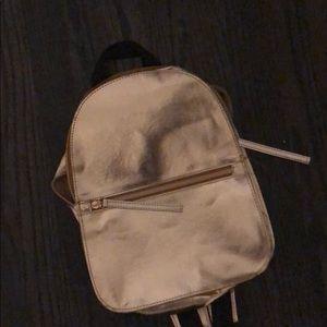 Cute kids gold backpack